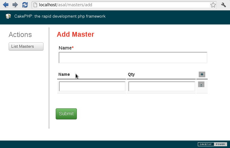 form add master detail